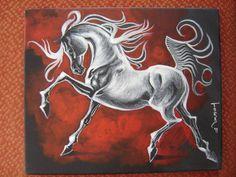 Equine Arabian art by Gabriel Tora Arabian Art, Equine Art, Great Artists, Gabriel, Moose Art, Horses, Animals, Facebook, Beauty