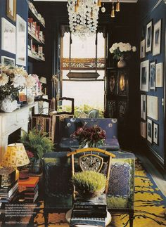color combo *decor for navy room