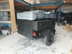 ATS+ Offroad rooftent trailer with 220 4 person rooftent Adventure Trailers, Offroad, Europe, Design, Off Road