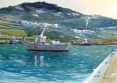 Mykonos new port by Tim Wilmot