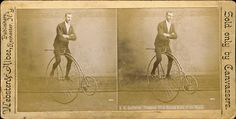 »N.E. Kaufmann, Champion Trick Bicycle Rider of the World«
