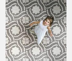 Haven Creek Grey Garden Mosaic - Clearance Floor Tiles from Tile Mountain Garden Tiles, Mosaic Garden, Outdoor Tiles, Outdoor Areas, Grey Gardens, Small Gardens, Grey Block Paving, Small Patio Spaces, Cheap Tiles