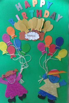 Arte em ensinar e aprender: English Kids - Happy Birthday of month