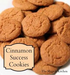 Cinnamon Success Cookie Recipe by The Magick Kitchen Witchy Snack Food Recipes Cookie Recipes, Dessert Recipes, Desserts, Wicca Recipes, Biscotti, Cinnamon Cookies, Kitchen Witchery, Kitchen Magic, Magick
