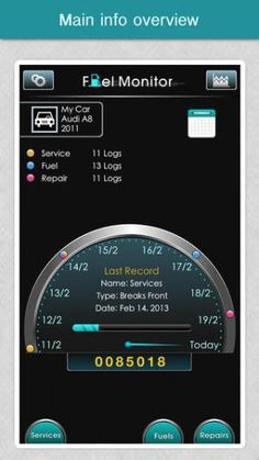 Fuel Monitor Free – Fuels Economy, MPG, Car Maintenance & Service Log
