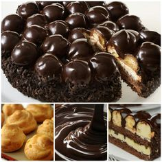 Profiteroles, Cupcake Cakes, Cupcakes, Just Cakes, Celebration Cakes, Biscotti, Baked Goods, Delicious Desserts, Ice Cream
