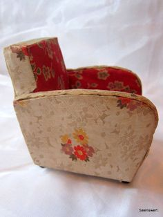Puppenstube Möbel Art Deco original 2 Sessel + 1 Chaise Lounges Jugendstil | eBay