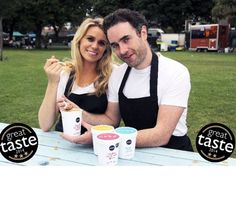 Big smiles at the great taste awards Meet the brains behind Nobó, Rachel and Brian! Dairy Free Ice Cream, Awards, Frozen, Meet, Good Things, Photo And Video, Big, Instagram