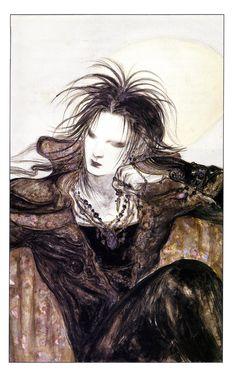 'Morpheus' by Yoshitaka Amano