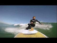 Ivan testing shorter SUP Paddle - Stand up paddle boarding