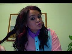 "The ""Ariana Grande half-up, half-down hair"" TUTORIAL - YouTube"