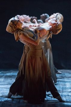 The Company in Akram Khan's Dust as part of Lest We Forget. © Photography by ASH. | by English National Ballet