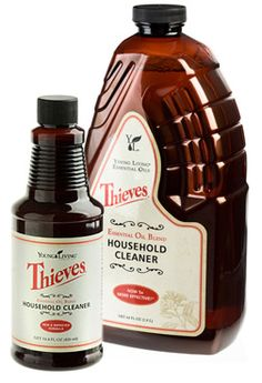 All Natural.....THIEVES is a Young Living blend of antiviral, antiseptic, antibacterial, anti-infectious essential Oil Blend.