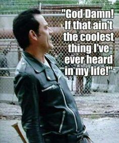 Carl Walking Dead, Walking Dead Funny, Fear The Walking, Eugene Porter, Jefferey Dean Morgan, Scary Shows, Negan Lucille, Cherokee Rose, Twd Memes