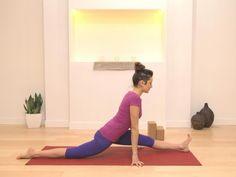 Hanumanasana Part 5: Full Splits Yoga Video with Ashleigh Sergeant
