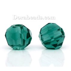 Worldwide Free Shipping Crystal Glass Loose Beads Ball Malachite Green Faceted Transparent About 4mm( 1/8) Dia, Hole: Approx 1mm, 15 PCs [B10741S] at incredible low price– DoreenBeads.com