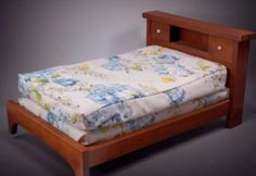 Wooden-Doll-Bed