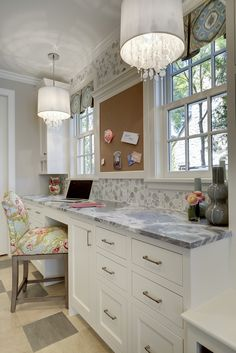 Home Office :: BATC Great Neighborhood Homes AlysEdwards Bubblicious glass mosaic tile