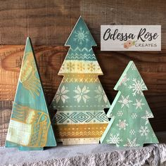 Wooden Christmas Decorations, Christmas Wood Crafts, Halloween Porch Decorations, Christmas Tree Crafts, Christmas Activities, Rustic Christmas, Xmas Tree, Christmas Projects, Holiday Fun