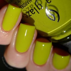 Trip of a Lime Time - Road Trip Spring 2015 China Glaze