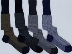 Remarkable over the calf socks for men - Palatino