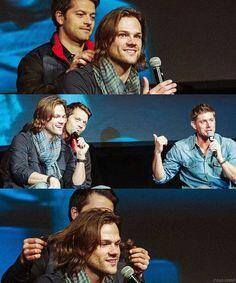 Jensen Ackles and Jared Padalecki || Supernatural