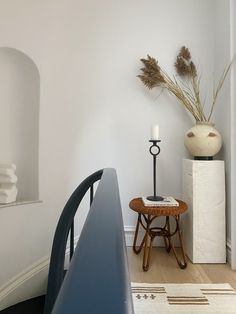 Ask Athena: How to Style a Room Living Etc, Neutral Palette, Antique Stores, Negative Space, Wishbone Chair, Kind Words, White Paints, Decorative Objects, Interior Styling