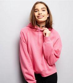Pink Oversized Hoodie   New Look