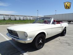1967 Ford Mustang convertible offered for sale by Gateway Classic Cars. Ford Mustang Shelby Cobra, 1973 Mustang, Ford Mustang Convertible, Mustang Cars, Ford Mustangs, Classic Mustang, Ford Classic Cars, 60s Muscle Cars, Car Man Cave