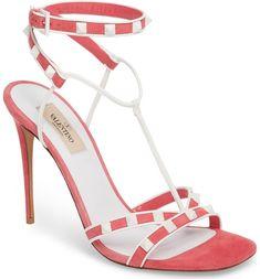 Main Image - Valentino Free Rockstud T-Strap Sandal (Women)