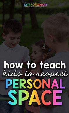 How to teach kids to respect personal space - Includes social story about personal space, Video of book about personal space, activities, information about recognizing community helpers and stranger danger. Social Skills Activities, Space Activities, Autism Activities, Personal Space Social Story, Play Based Learning, Learning Through Play, Teaching Kids Respect, Teaching Emotions, Social Stories