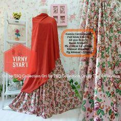 Model Baju Muslim Cantik B132 Virny Syar'i - http://bajumuslimbaru.com/baju-muslim-cantik-b132-virny-syari