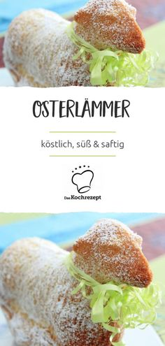Osterlämmer – Create Something On Easter Three Little Birds, This Little Piggy, Healthy Desserts, Healthy Recipes, Easter Lamb, Red Beans, Easter Table, Fresh Rolls, Sweet Recipes