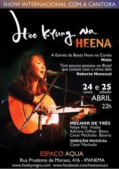[Exclusivo] Entrevista com a cantora Heena