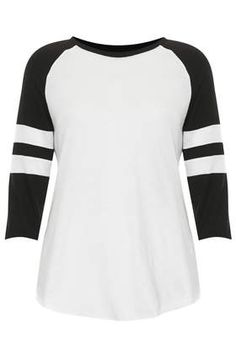 Raglan Top - T-Shirts - Tops - Clothing sz6