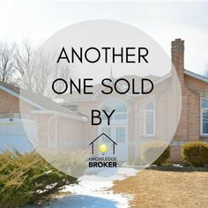 Another Buyer Client is now looking forward to a new home this Spring!  Thank you to the Toombs Team Real Estate Services for collaborating on this one!  Are you ready for a new experience? Check out The Knowledge Broker Experience at www.knowledgebroker.ca
