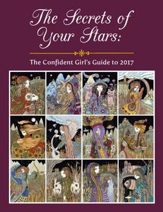 The Secrets of Your Stars: The Confident Girl's Guide to 2017 by DeniseElizabethByron on Etsy