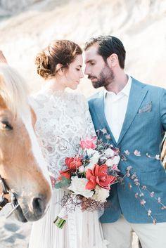 Kiara and Jake   George Liopetas Wedding Couples, Wedding Bride, Best Wedding Blogs, Anthropologie Wedding, Seashell Wedding, Santorini Wedding, Bridal Musings, Destination Wedding Photographer, Destination Weddings