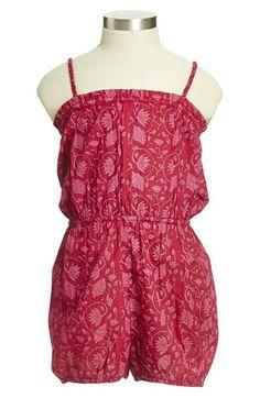 Peek 'Riviera' Woven Cotton Romper (Toddler Girls, Little Girls & Big Girls) available at #Nordstrom