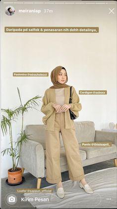 Hijab Casual, Modest Fashion Hijab, Modern Hijab Fashion, Street Hijab Fashion, Hijab Fashion Inspiration, Ootd Hijab, Muslim Fashion, Stylish Hijab, Mode Outfits