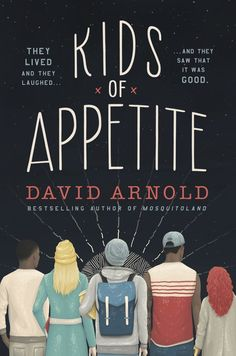 #CoverReveal: Kids of Appetite - David Arnold