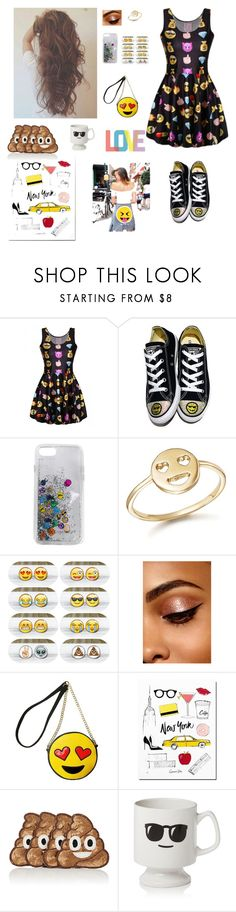 """emoji fashion😃😊😋😄😁😜😍😘😆😝😂😉😚😎😛😅😱😭😵😖😏😬😨😠😡😔😓😳😥😰😢😞😪😩😷😫😣😴😒☺😀😌😤😑😐😈😇😗😙😶😟😧😕😦😮"" by magic-sunsat ❤ liked on Polyvore featuring Converse, Rebecca Minkoff, Bing Bang, Olivia Miller, Kim Seybert, Sparrow & Wren and Native State"