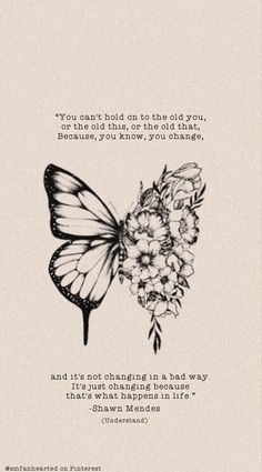 Shawn Mendes Wallpaper 🦋 Shawn Mendes butterfly tattoo lock screen with lyrics from the song Understand on it<br> Shawn Mendes Tattoos, Shawn Mendes Songs, Shawn Mendes Quotes, Shawn Mendes Wallpaper, Pretty Quotes, Pretty Words, Quote Aesthetic, Future Tattoos, Mood Quotes