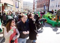 Downtown Norwich was awash on Sunday in shades of green as the city celebrated its fourth annual St. Patrick's Day Parade and Festival on Sunday, March 5, an event where most participants and viewers — no matter their true genealogical lineage — claimed at least a drop of Irish blood. Read more and see photos: http://www.norwichbulletin.com/news/20170305/norwich-goes-green-for-st-patricks-day-parade #CT #NorwichCT #Connecticut #StPatricksDay #Parade #Ctevents #Parade