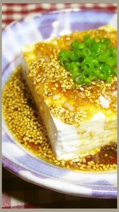 冷奴や湯豆腐に!めんつゆとごま油絶品だれ by しるびー1978 【クックパッド】 簡単おいしいみんなのレシピが312万品