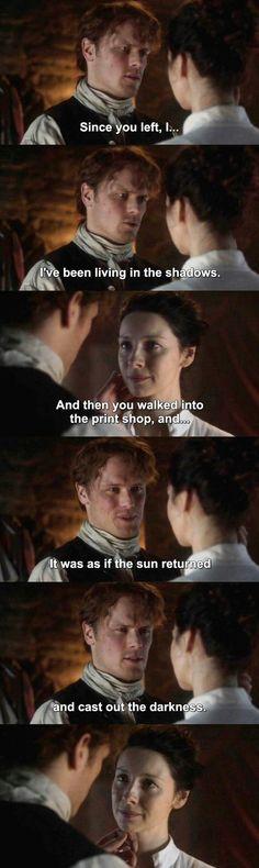 Outlander S03E07 - Jamie & Claire