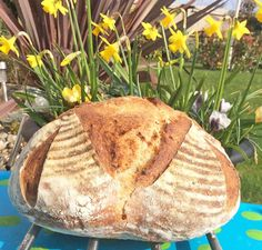 Spring is here!! #springtime #flowers #artisanbread #artisan #bread #boulle