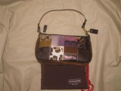 Coach Holiday Patchwork Purse #Coach #ShoulderBag