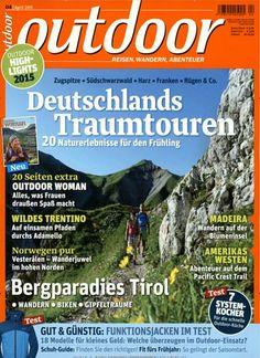 Deutschlands Traumtouren - 20 Naturelebnisse für den Frühling. Gefunden in: outdoor, Nr. 4/2015