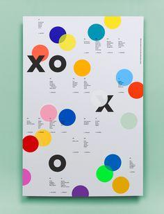Mi piace l'accostamento di colori vivaci che dona dinamicità alla composizione, dato che il testo rimane molto piccolo e semplice ✖ Collins